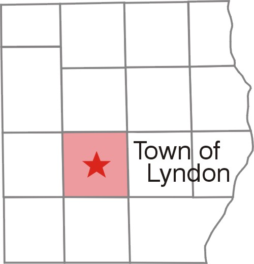 Town of Lyndon County Map